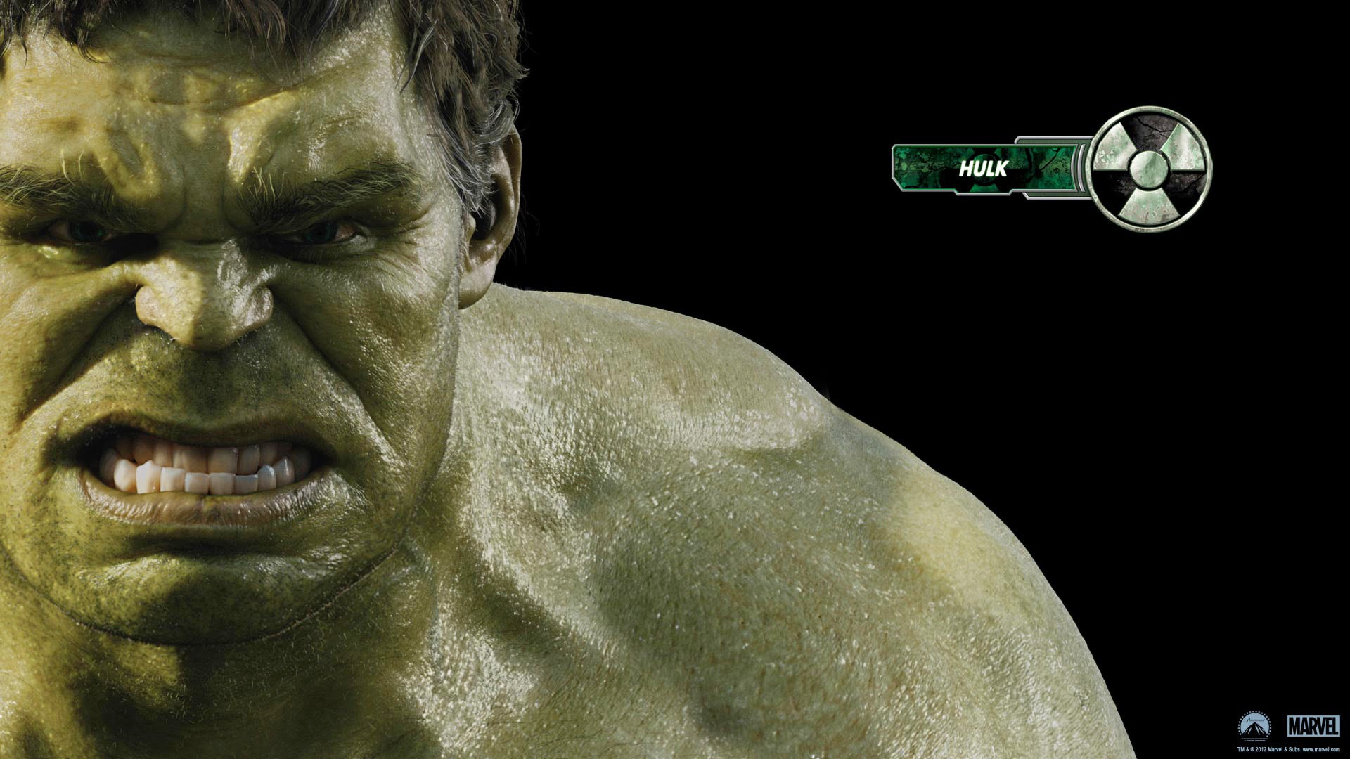 Hulk in Avengers Movie wallpaper