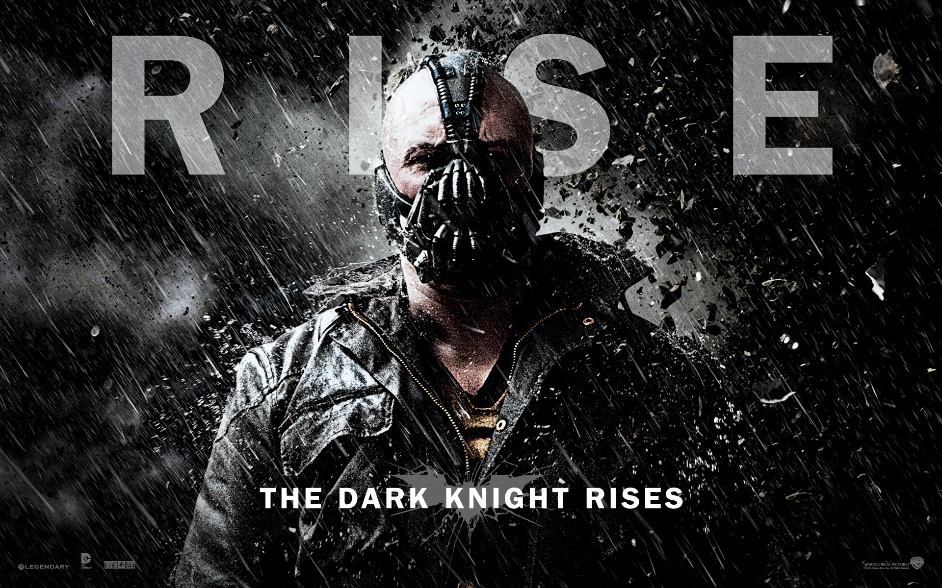 Bane Dark Knight Rises wallpaper
