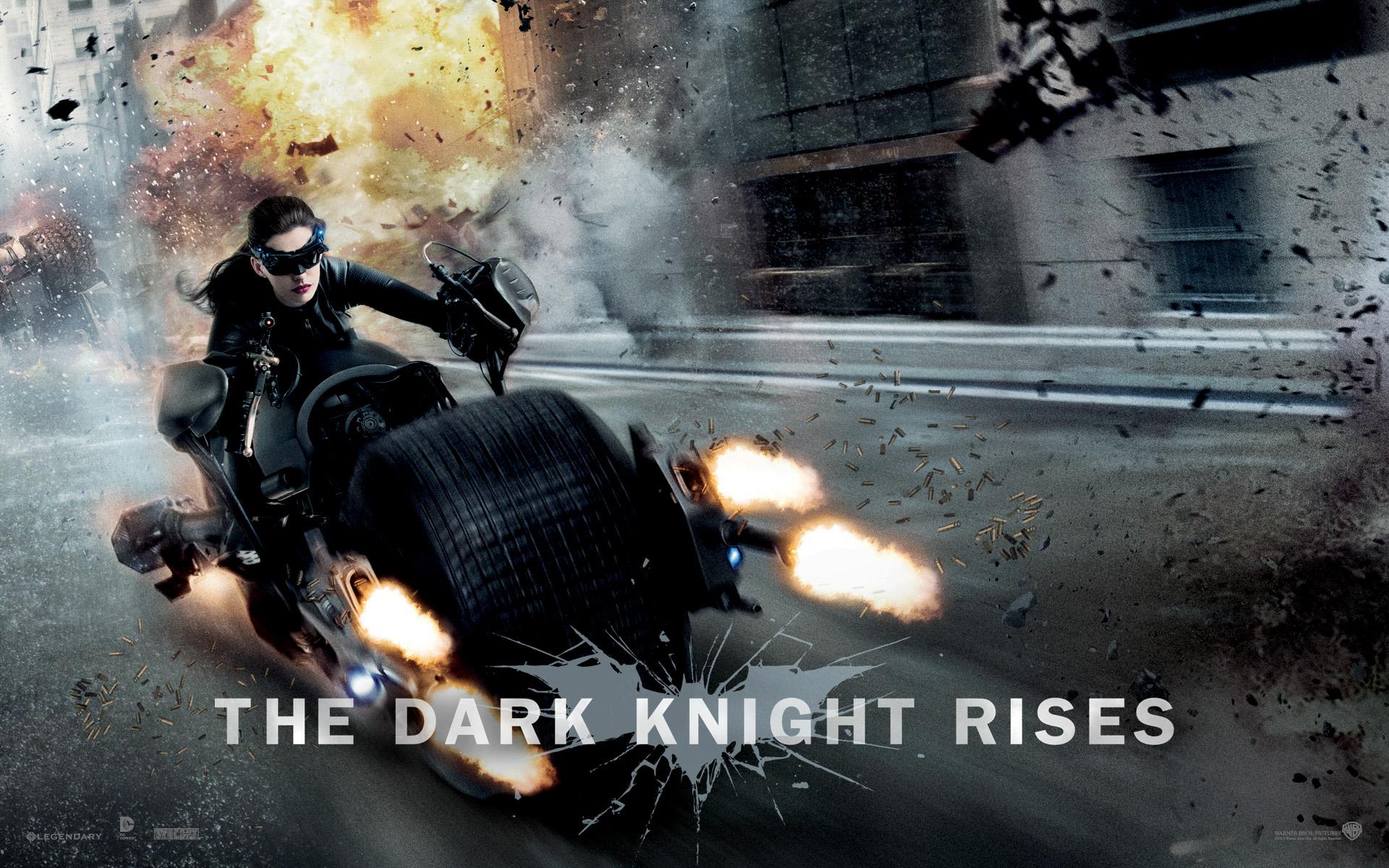 Anne Hathaway in Dark Knight Rises wallpaper