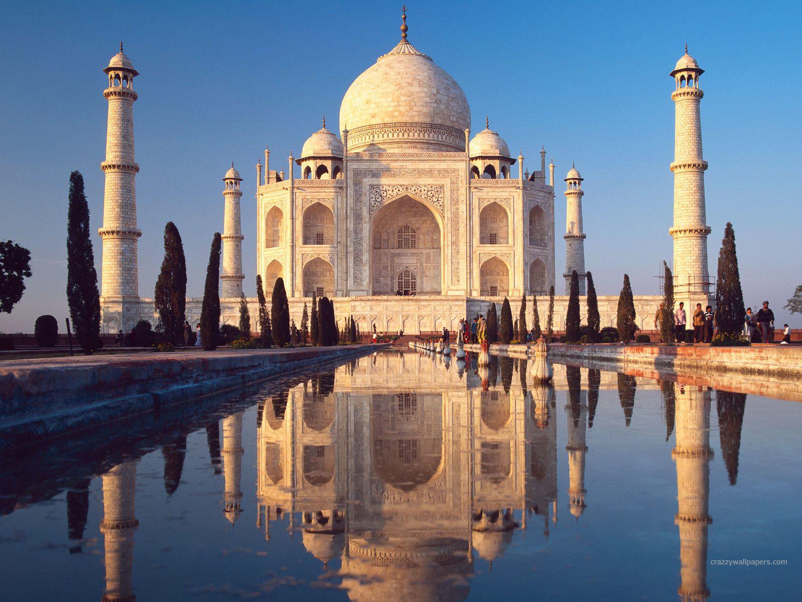 Taj Mahal Agra India HD wallpaper