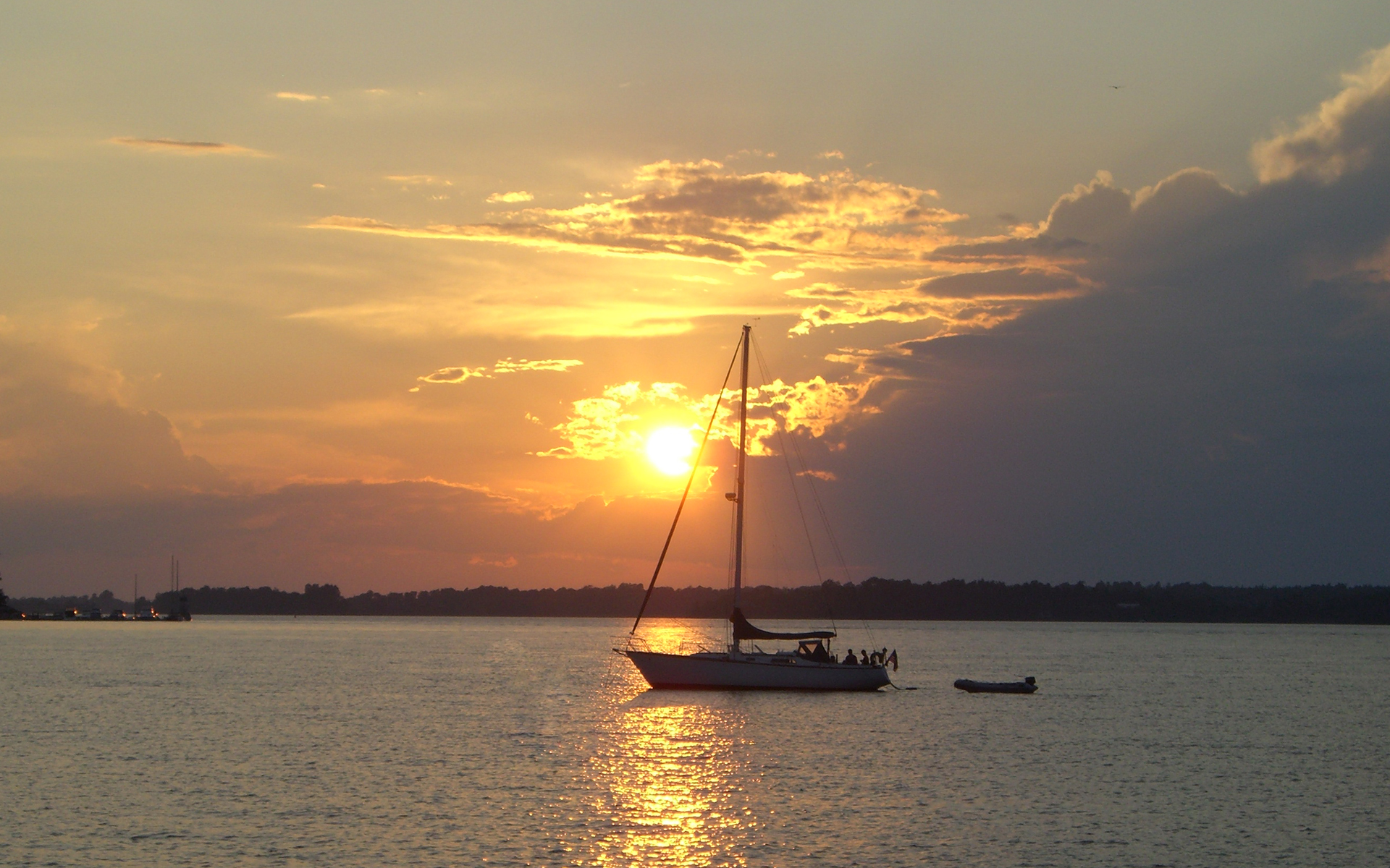 Sailboat Sunset Free Photos 1369986 Wallpaper wallpaper