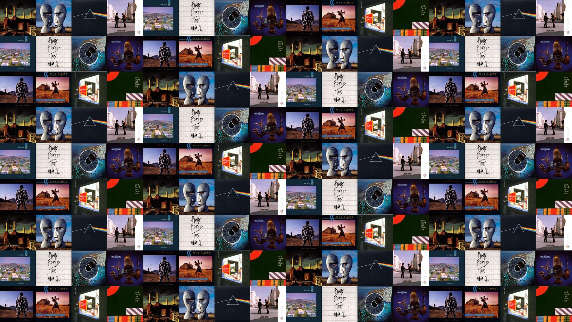 Pink Floyd Animals Division Bell Dark Side Moon Tiled 424919 Wallpaper wallpaper