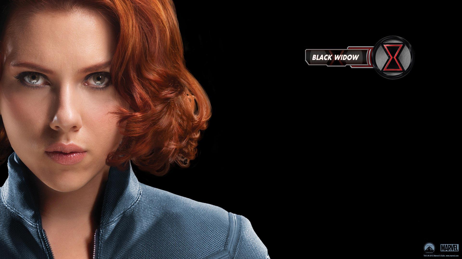 Black Widow in Avengers Movie wallpaper