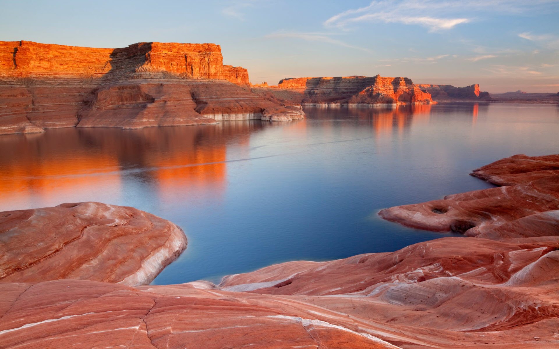 Padre Bay Lake Powell Utah wallpaper