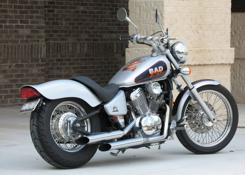 Honda Motorcycles Fith Gear Customs Shadow Vlx Deluxe 87289 Wallpaper wallpaper