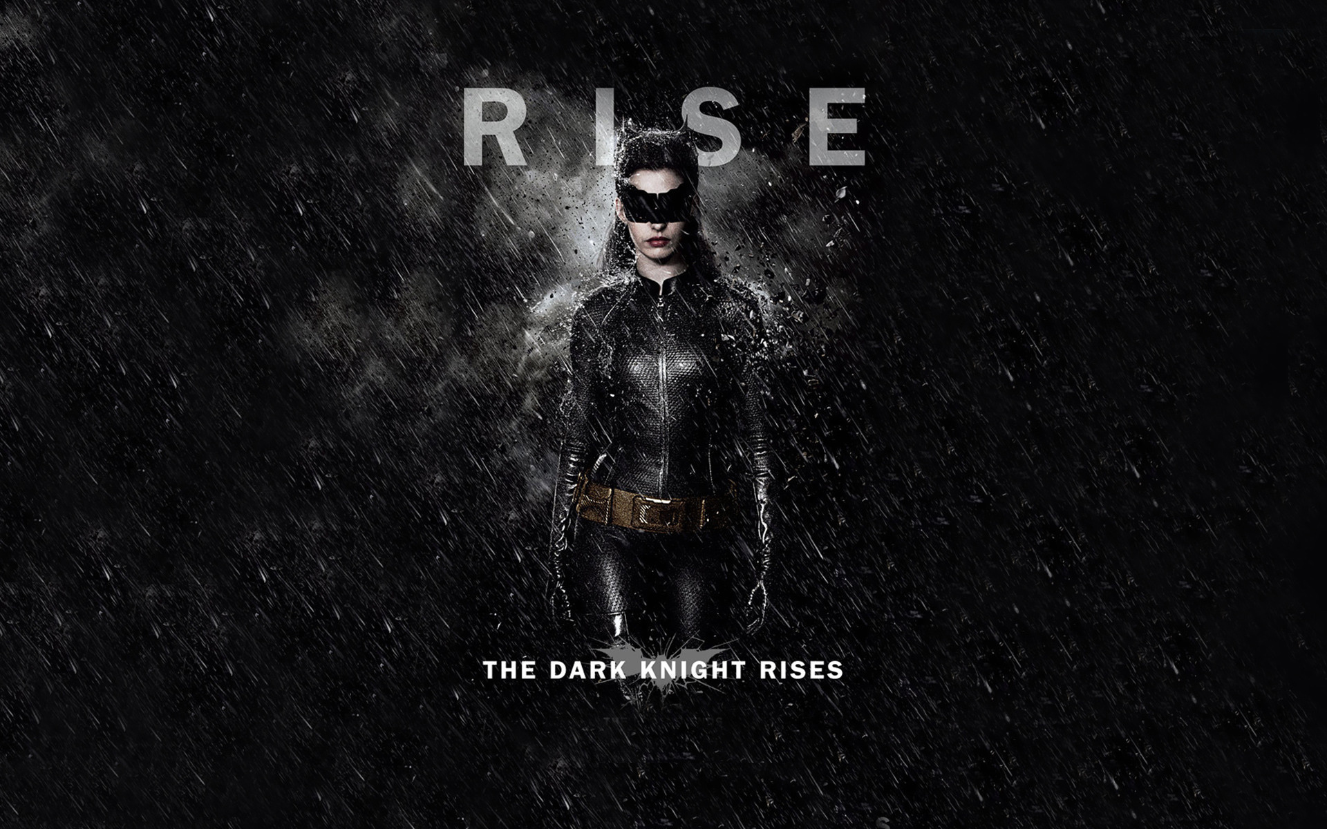 Catwoman The Dark Knight Rises wallpaper