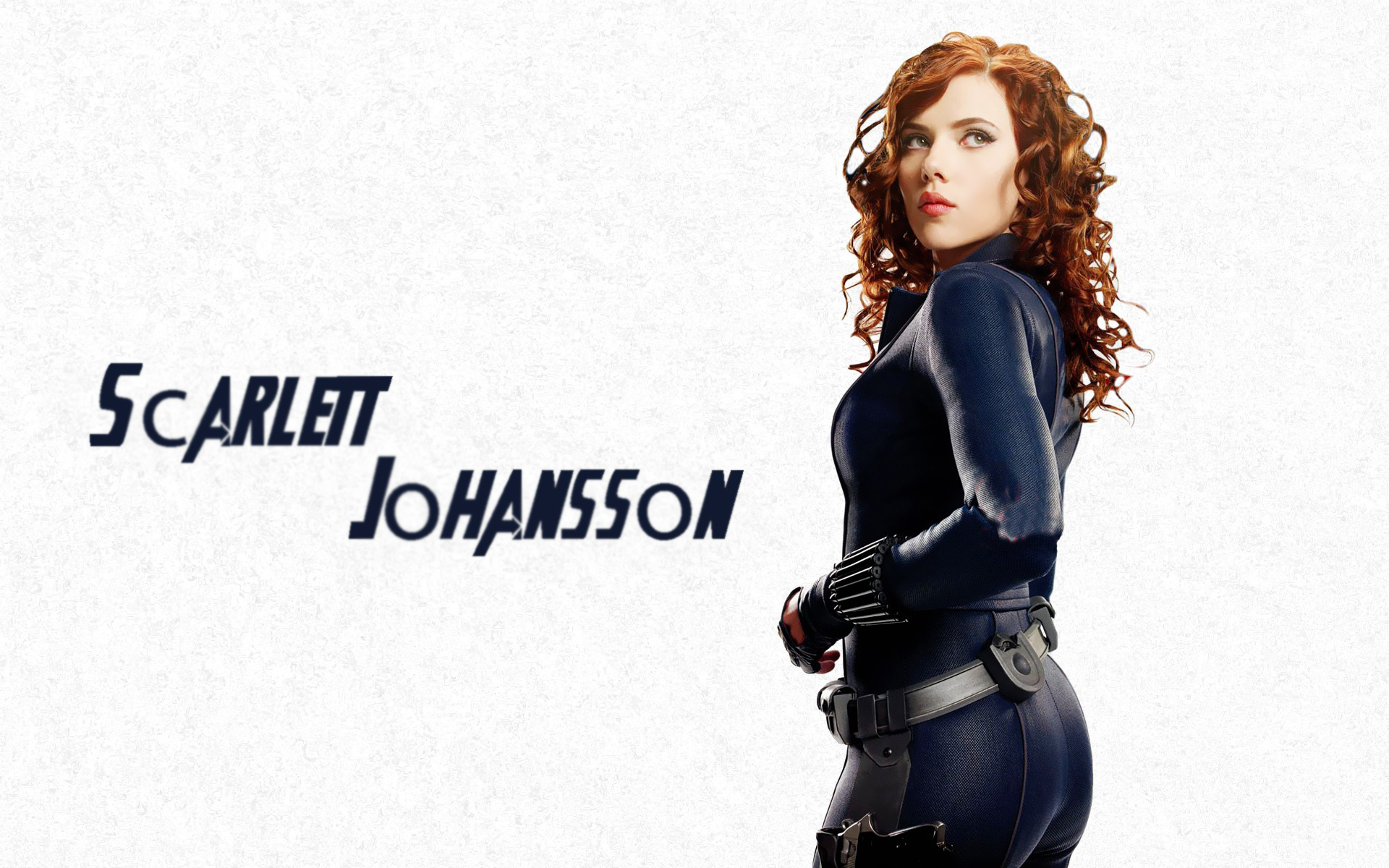 Scarlett Johansson in Avengers Movie wallpaper