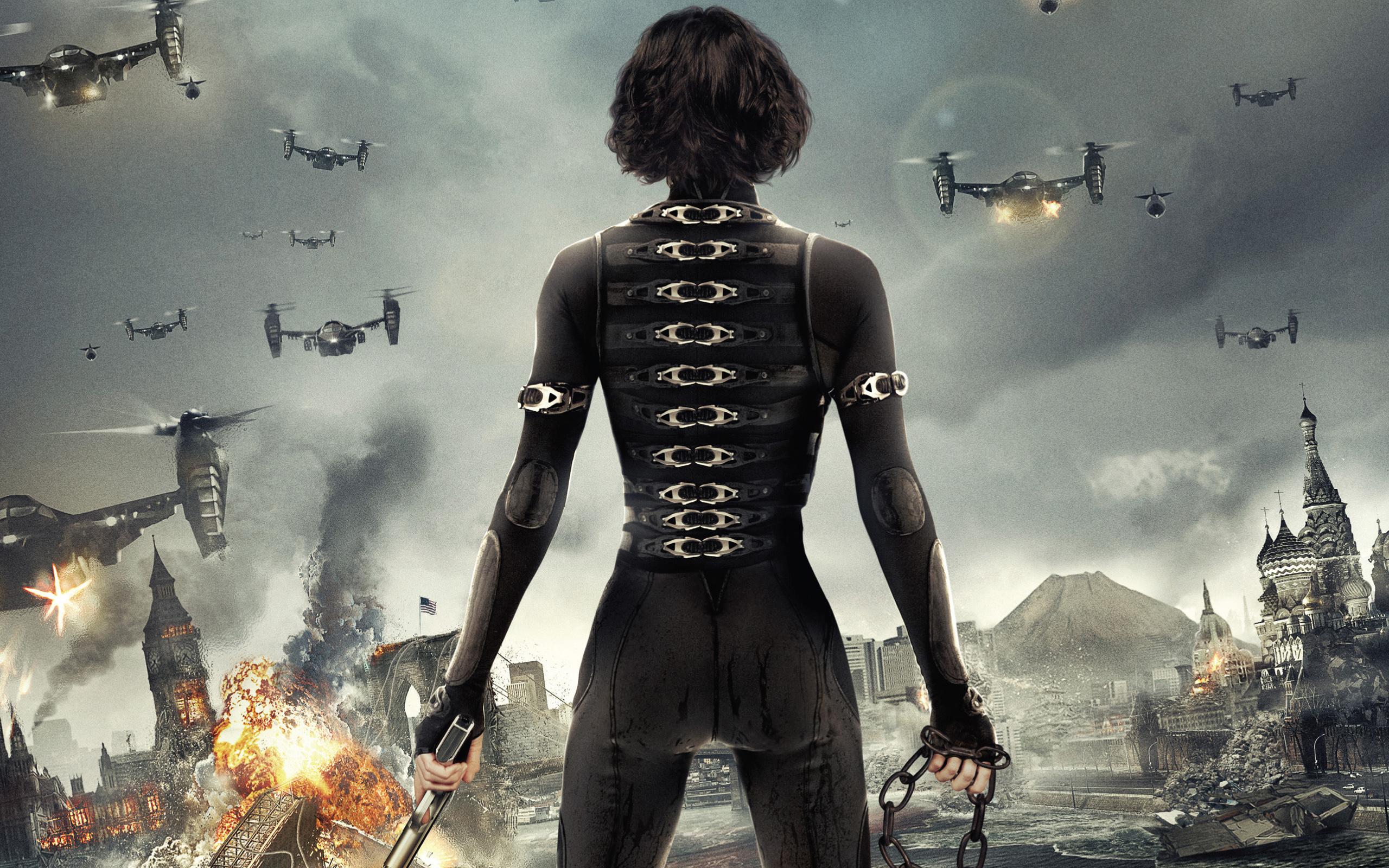 Alice in Resident Evil 5 Retribution wallpaper