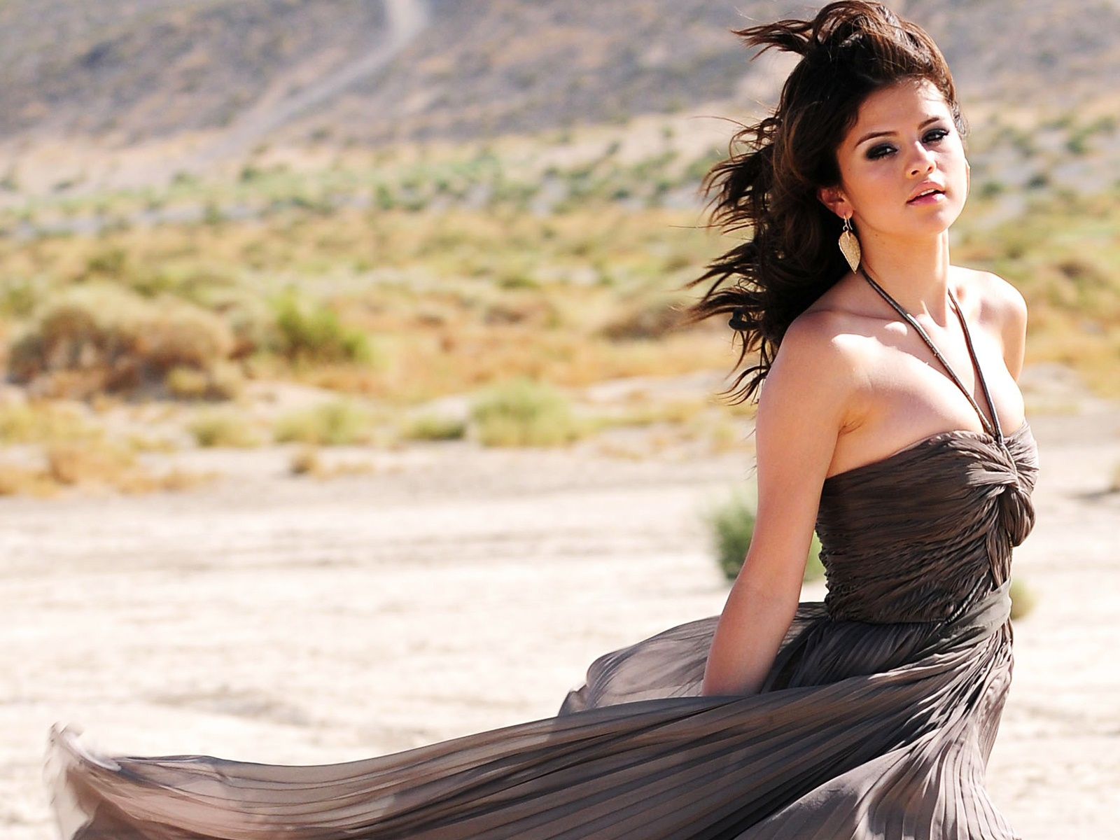 Selena Gomez A Year Without Rain 2010 wallpaper