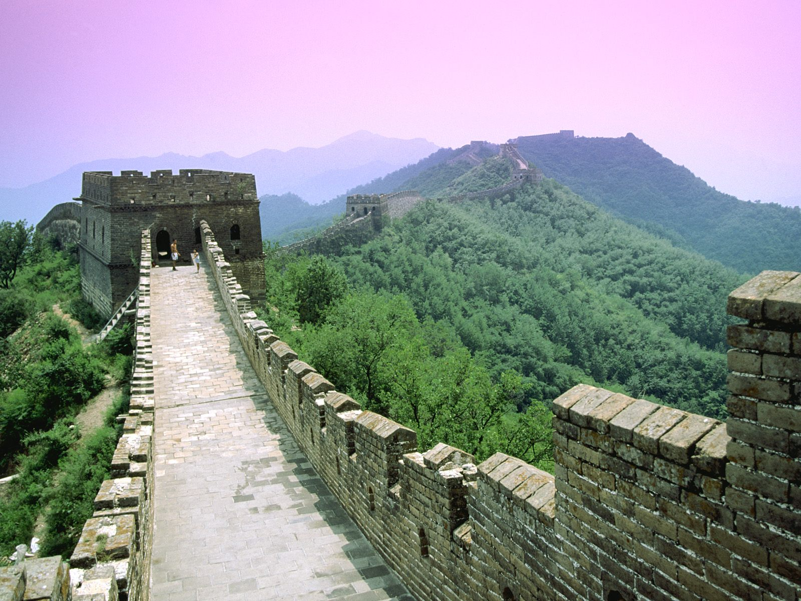 Great Wall Beijing China wallpaper