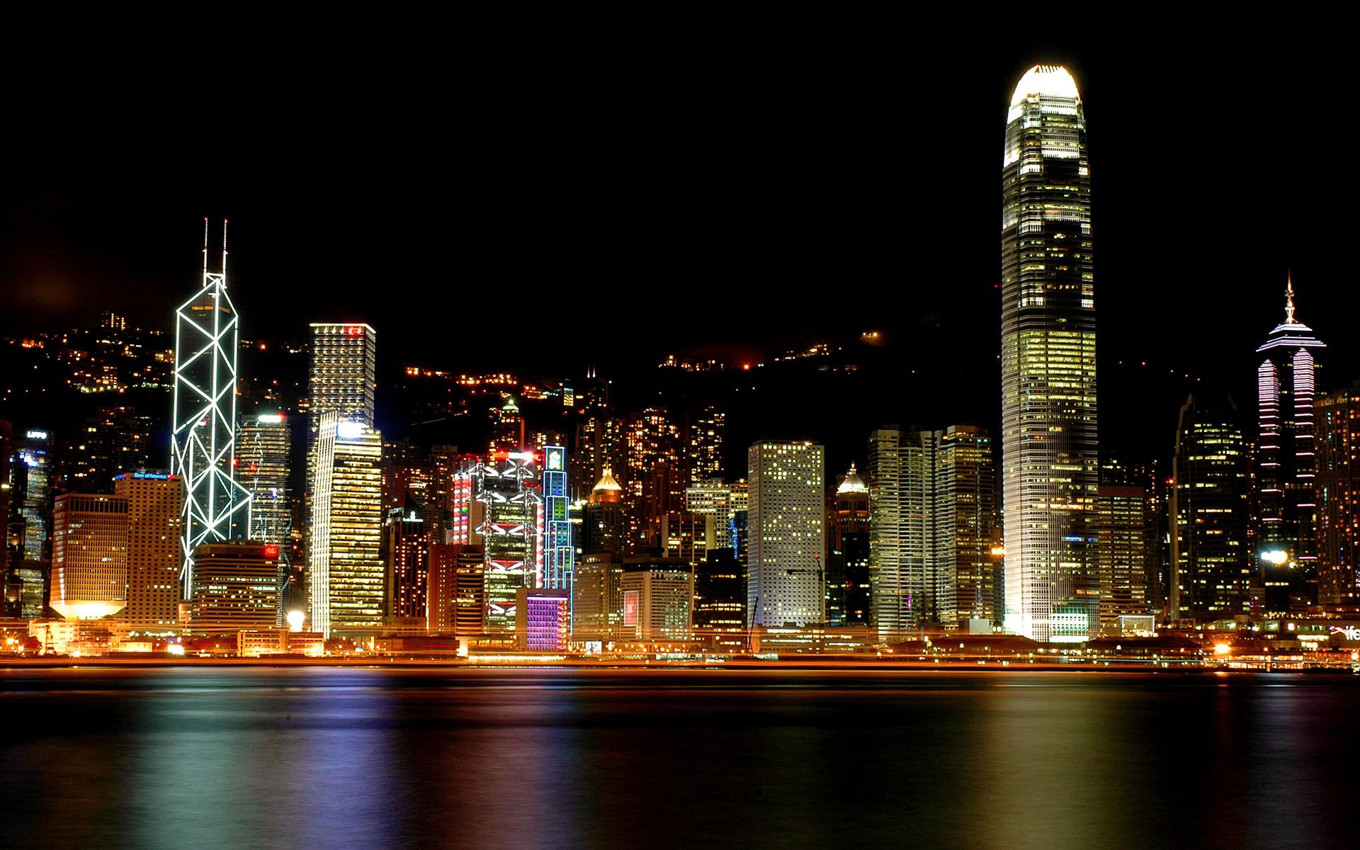 Hong Kong Victoria Harbour wallpaper