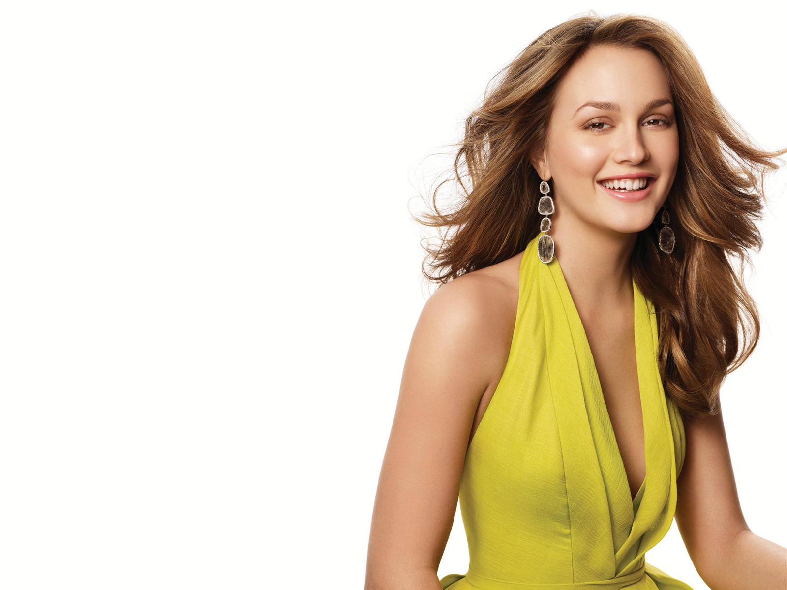 Leighton Meester Beautiful Actress wallpaper