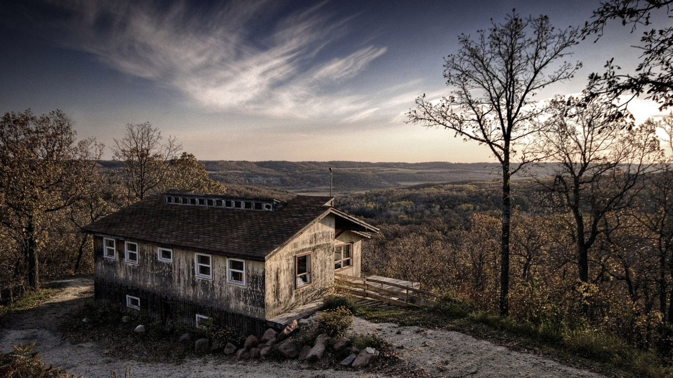 Carbon Old House In The Forest Wallszone 999773 Wallpaper wallpaper
