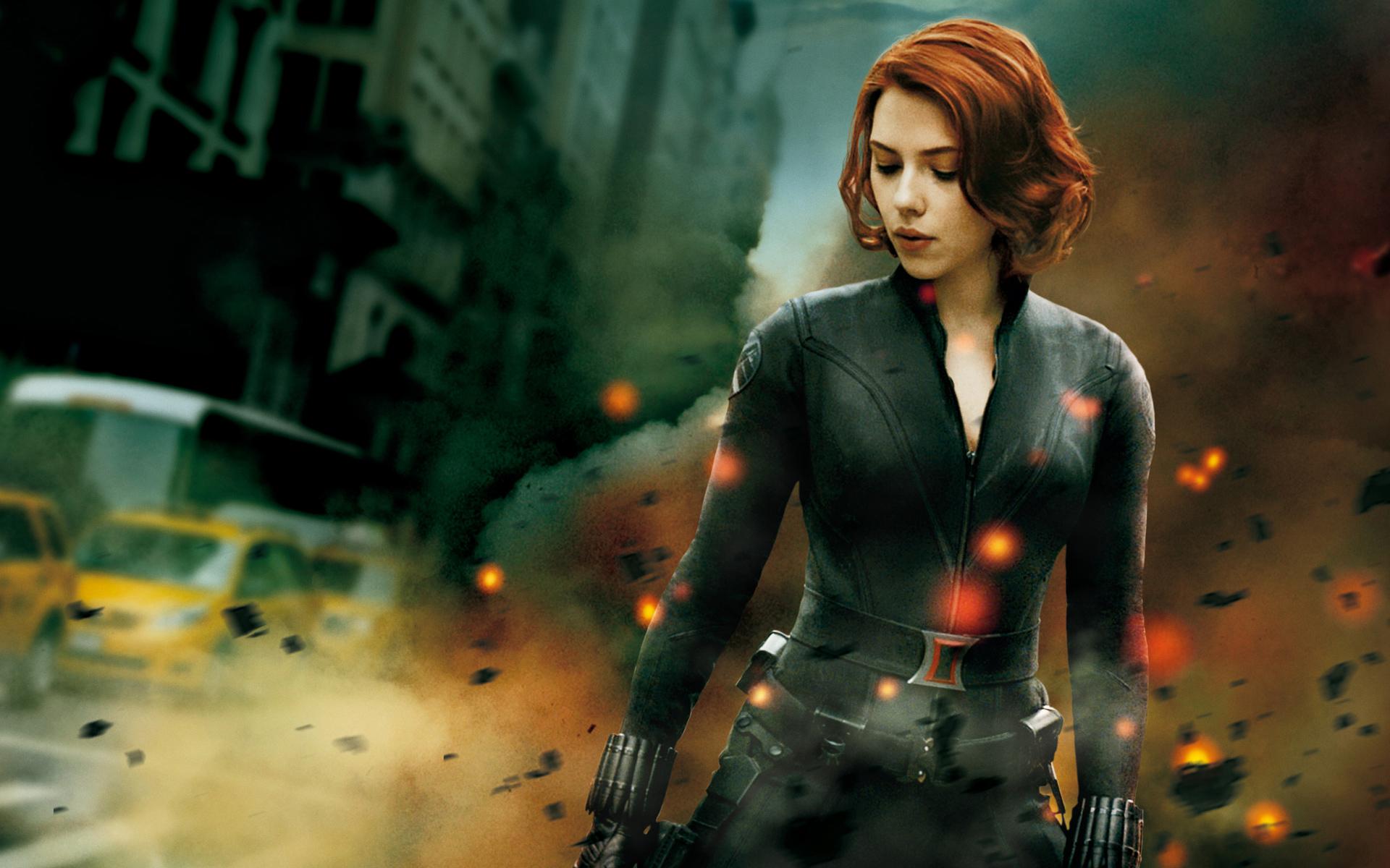 The Avengers Black Widow wallpaper