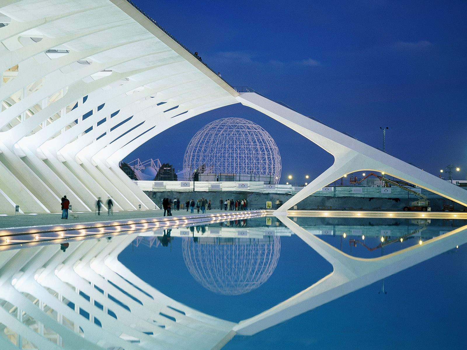 City of Arts and Sciences Spain wallpaper