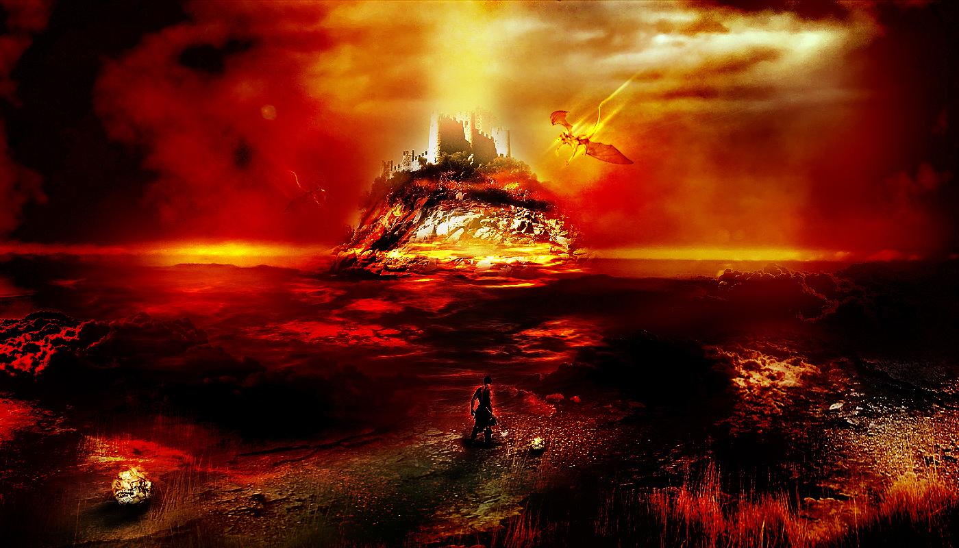Animal Inferno Hell Scene Flatten Free Computer 570616 Wallpaper wallpaper