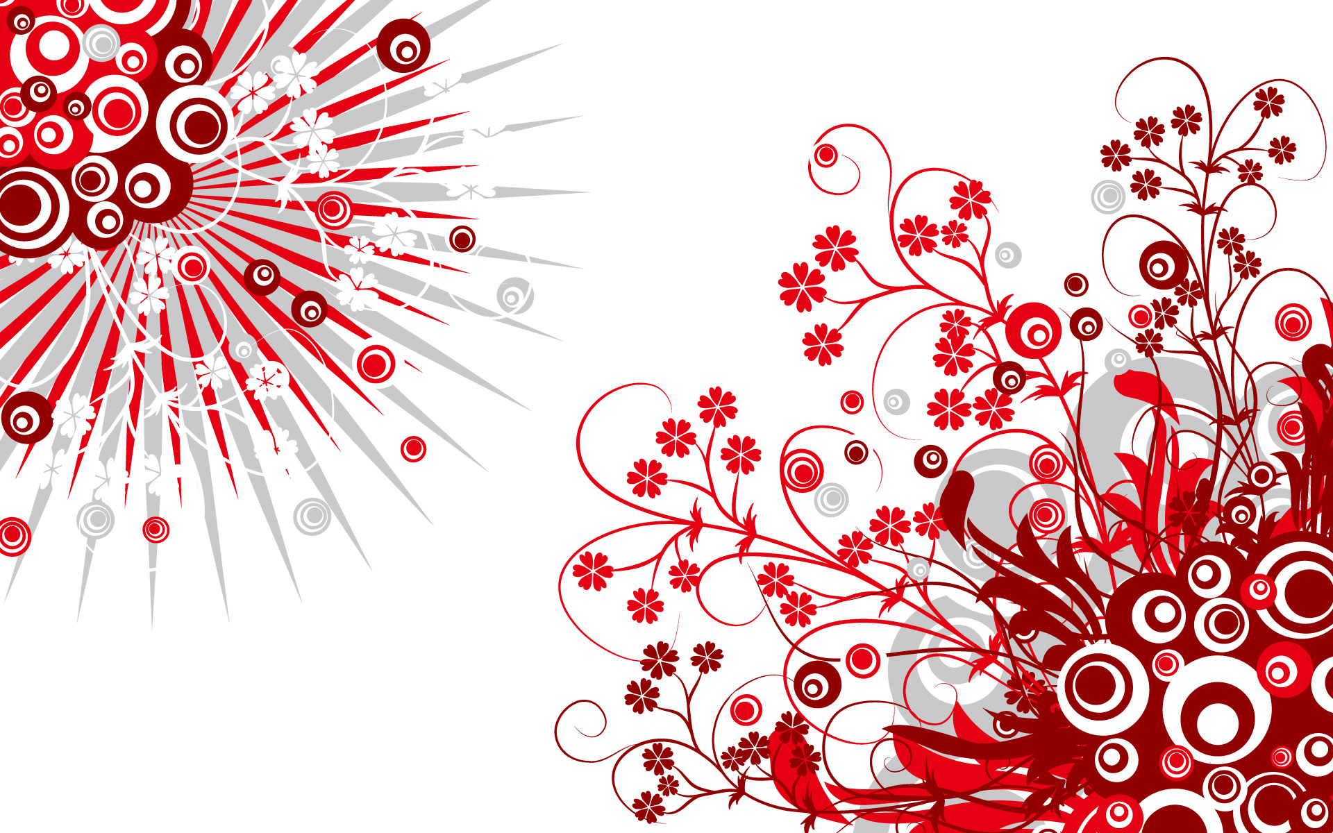 Abstract In Red And White Vectoriales Hd Taringa 738648 Wallpaper wallpaper