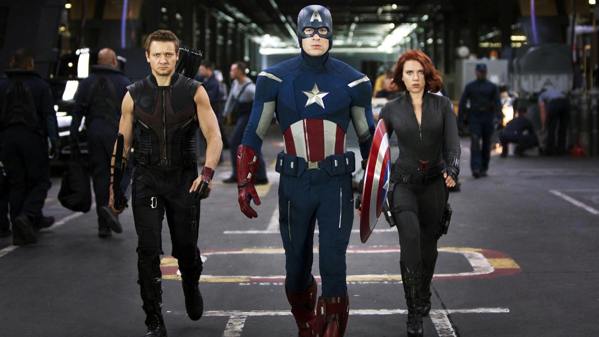 The Avengers Team wallpaper
