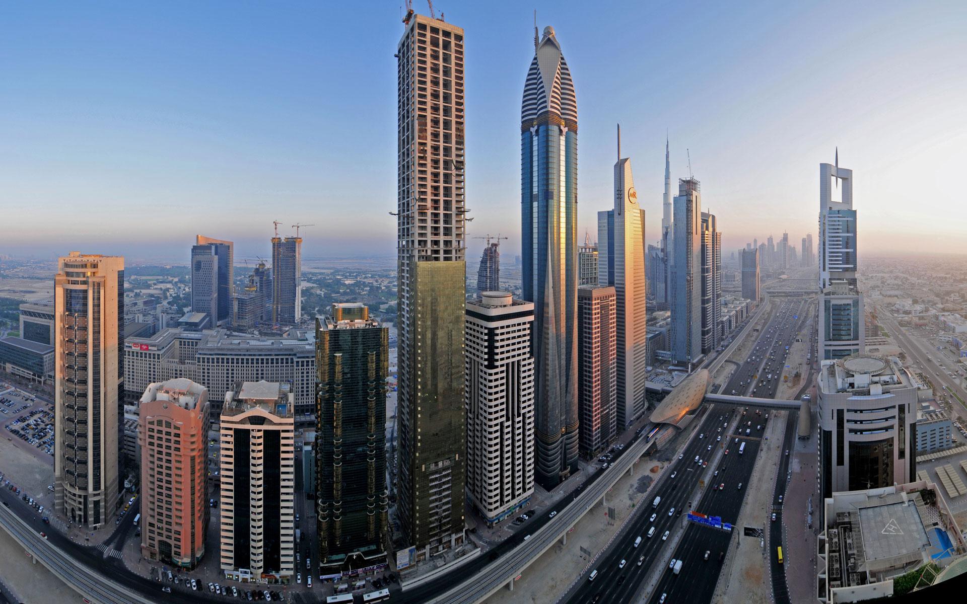 Downtown Dubai Widescreen wallpaper