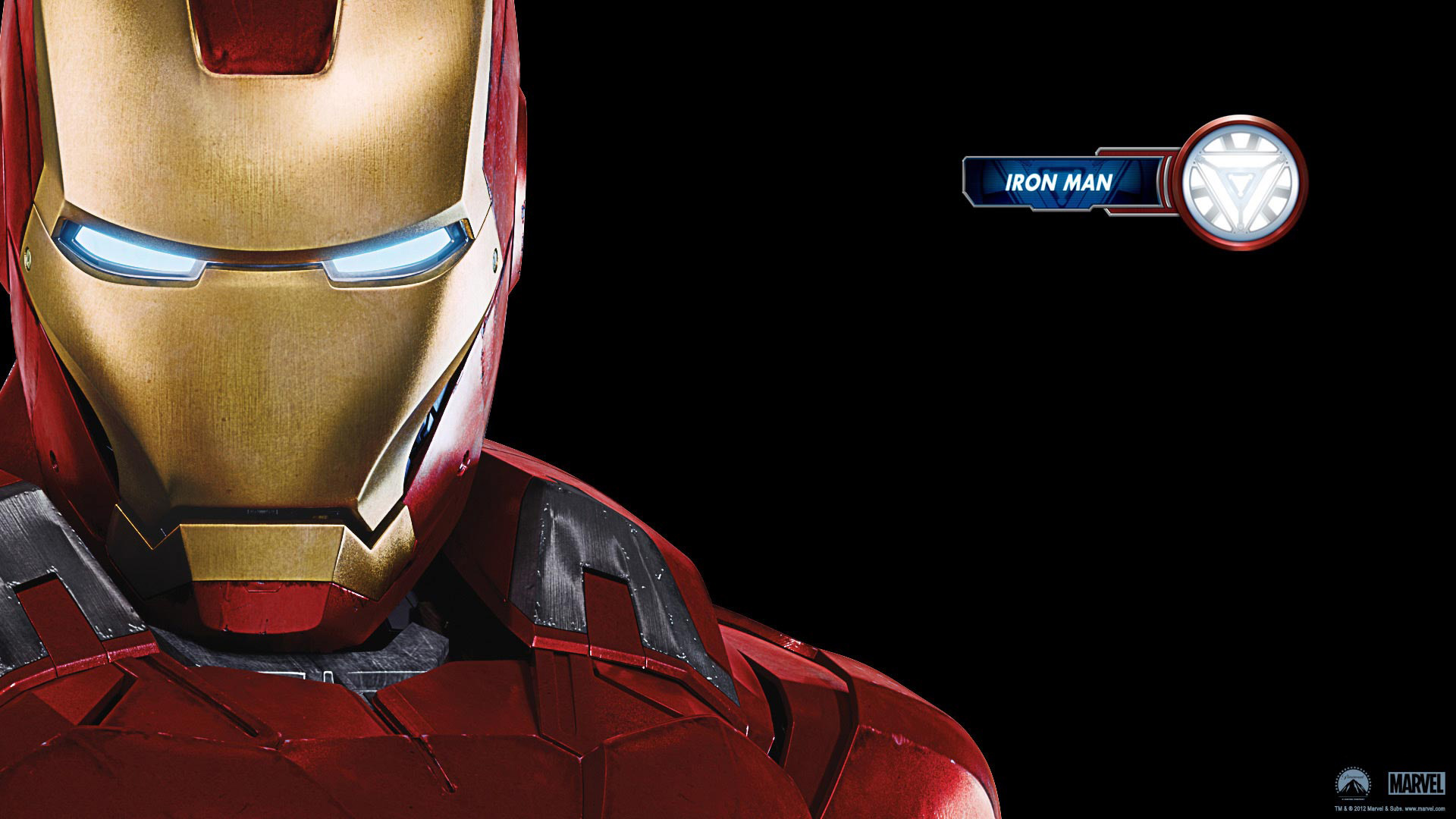 Iron Man in 2012 Avengers wallpaper