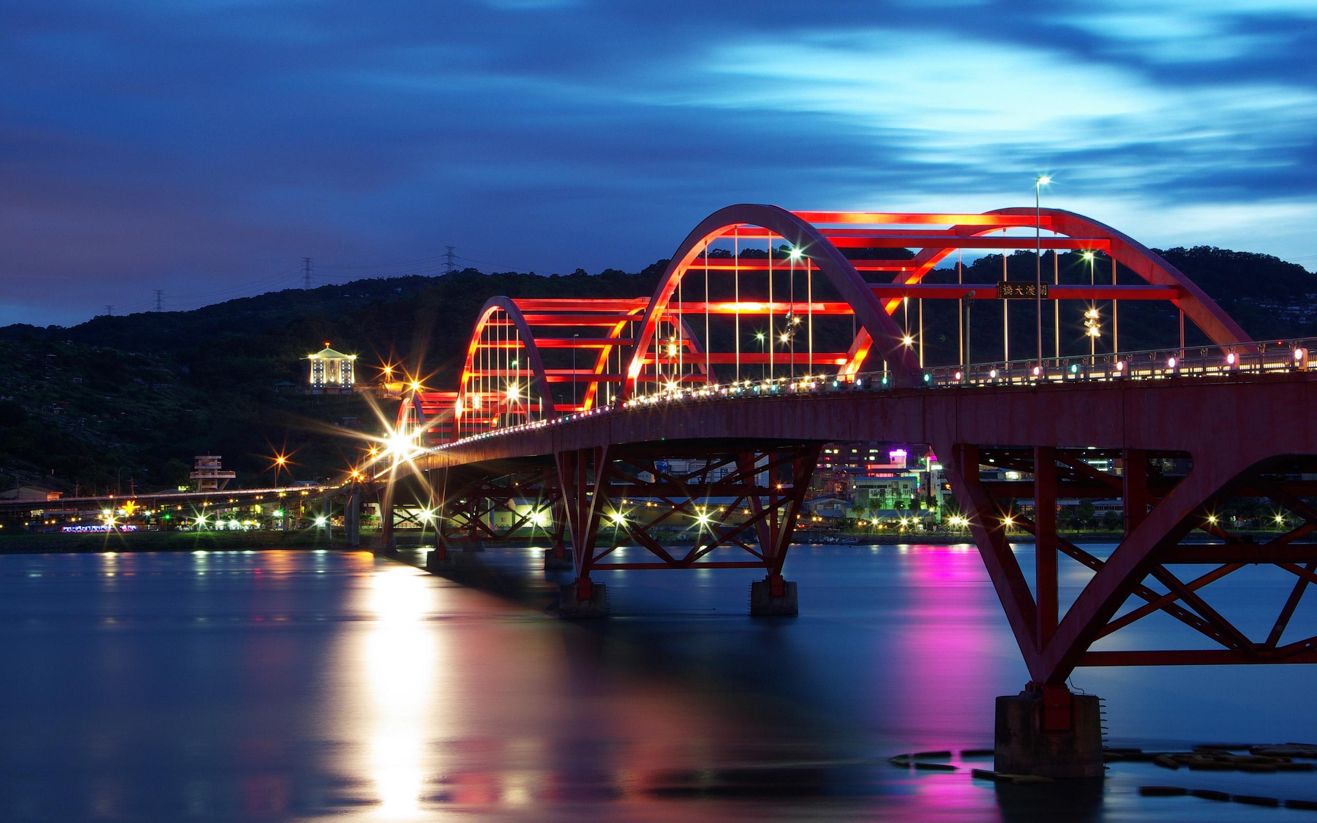 Guandu Bridge Taiwan wallpaper