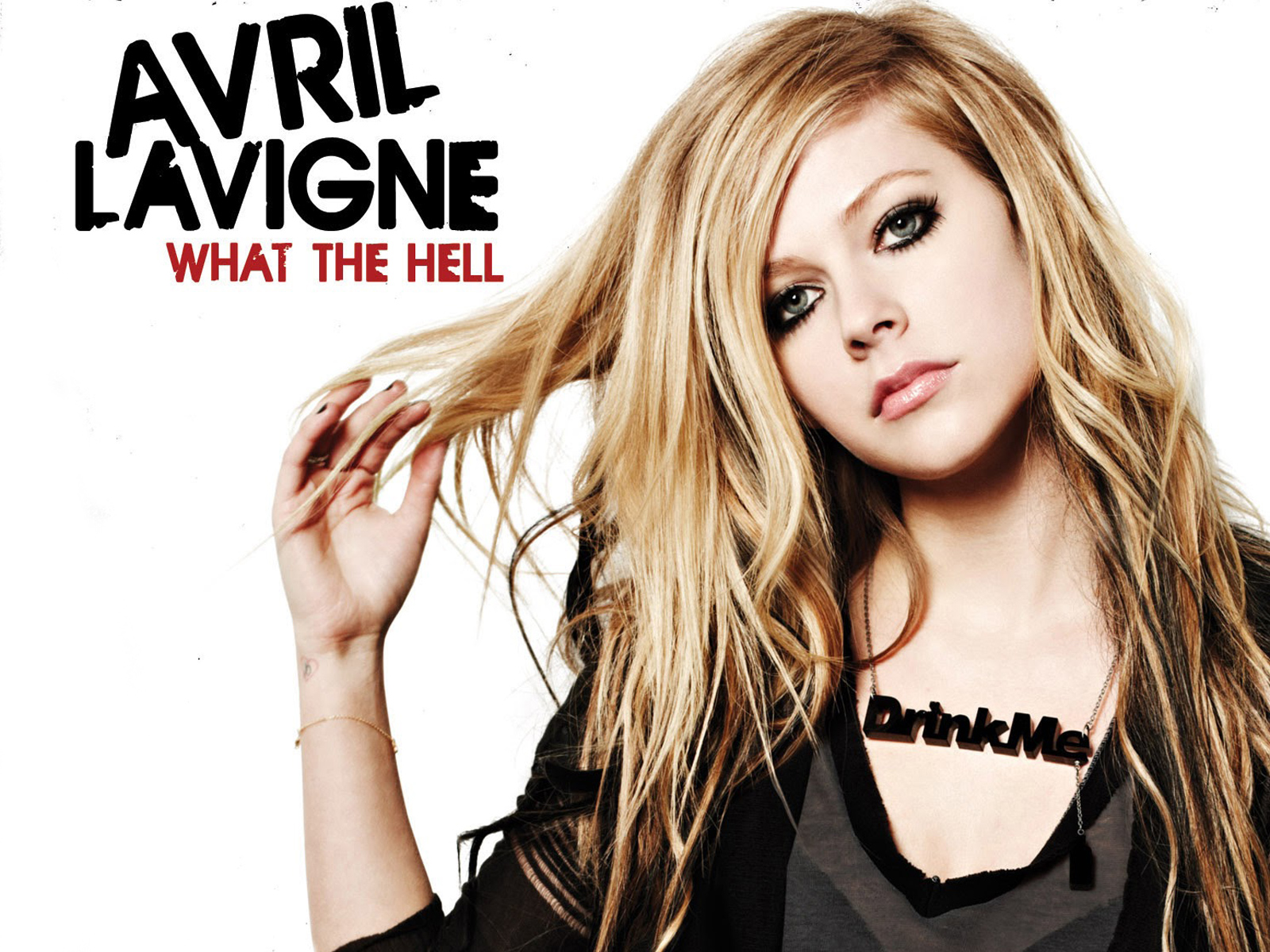Avril Lavigne What The Hell wallpaper download
