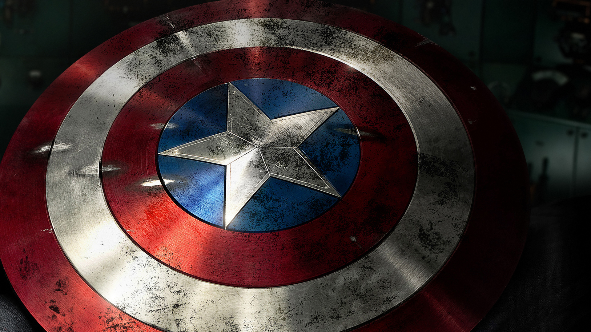 Shield of Captain America wallpaper