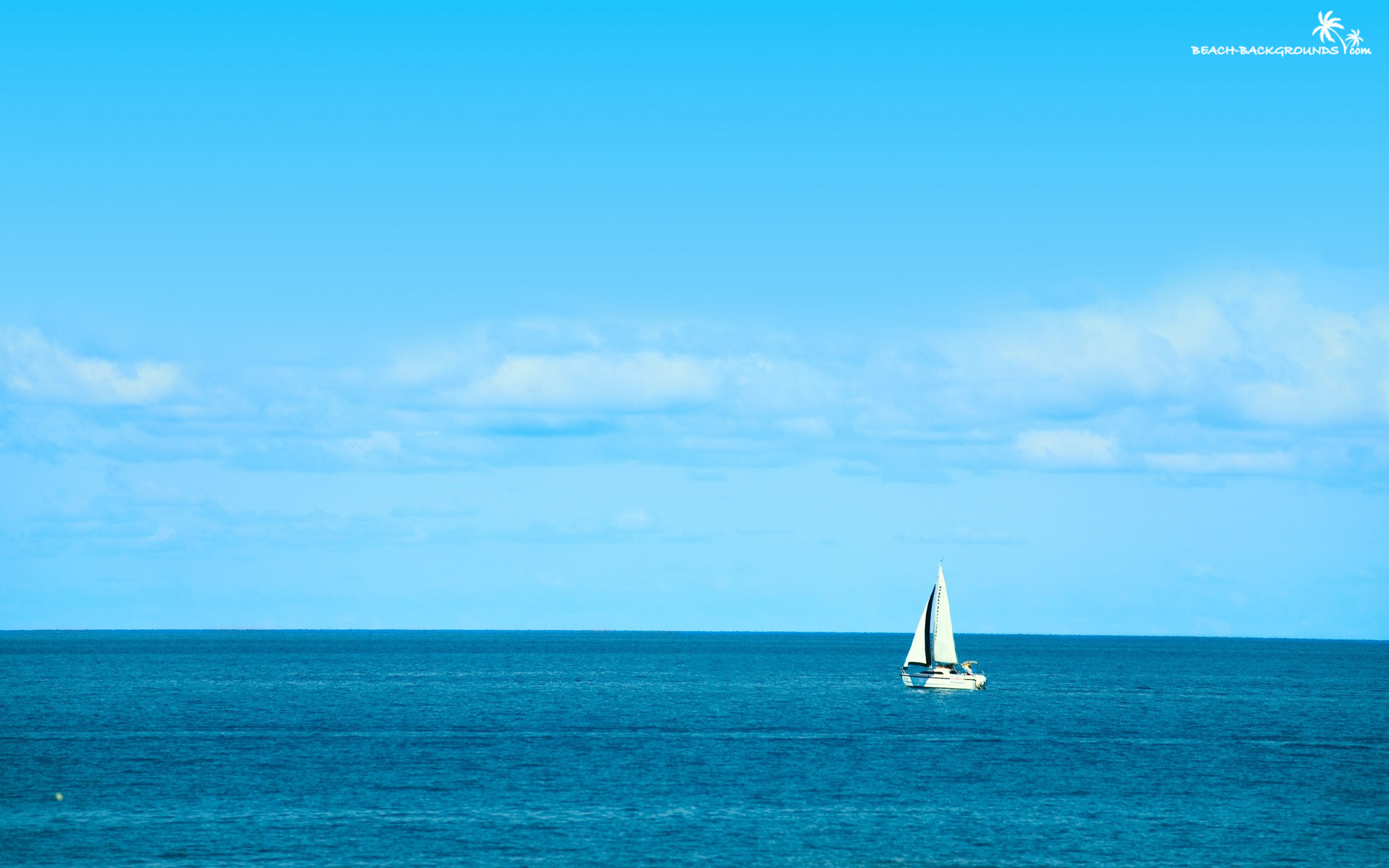 Sailboat Blue Beach Com 300417 Wallpaper wallpaper