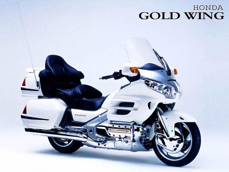 Honda Motorcycles Gold Wing White Front Side Motorcycle 57364 Wallpaper wallpaper