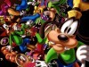 Cartoons Disney Goofy And Friends Love Sms 107360 Wallpaper wallpaper