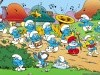 Cartoons The Smurfs Cartoon Crazy Frankenstein 378546 Wallpaper wallpaper