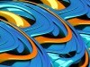 Orange Abstract D Hd Blue Free 435019 Wallpaper wallpaper